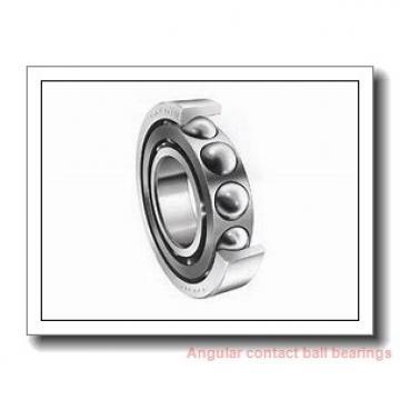 25 mm x 52 mm x 15 mm  SKF 7205 BEGBY  Angular Contact Ball Bearings