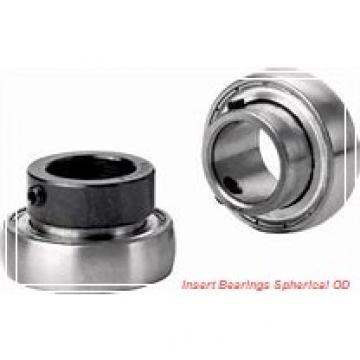 30 mm x 62 mm x 38.1 mm  SKF YAR 206-2F  Insert Bearings Spherical OD