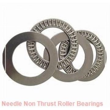 0.313 Inch | 7.95 Millimeter x 0.5 Inch | 12.7 Millimeter x 0.515 Inch | 13.081 Millimeter  IKO IRB58  Needle Non Thrust Roller Bearings