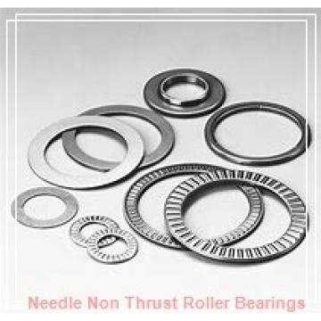 2.063 Inch   52.4 Millimeter x 2.531 Inch   64.287 Millimeter x 1.5 Inch   38.1 Millimeter  IKO BHA3324ZOH  Needle Non Thrust Roller Bearings