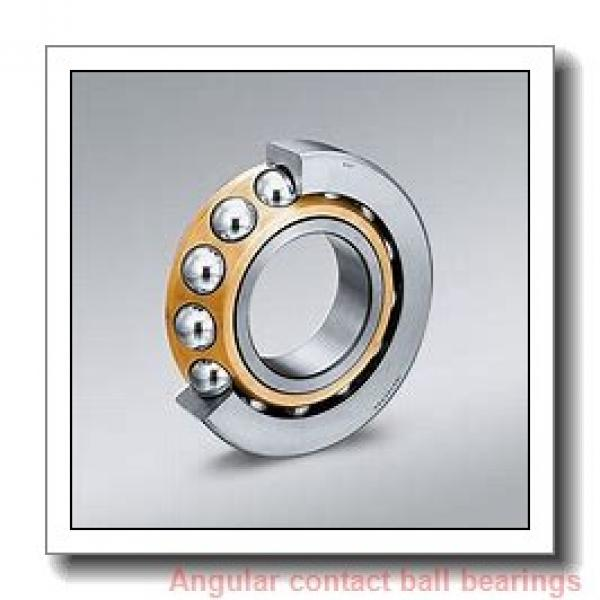 180 mm x 320 mm x 52 mm  SKF 7236 BCAM  Angular Contact Ball Bearings #1 image