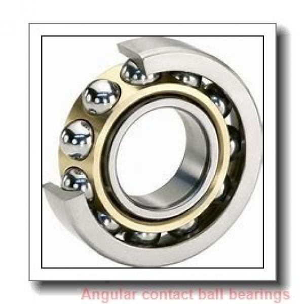 4.331 Inch   110 Millimeter x 7.874 Inch   200 Millimeter x 1.496 Inch   38 Millimeter  SKF 7222 BEN1M  Angular Contact Ball Bearings #1 image
