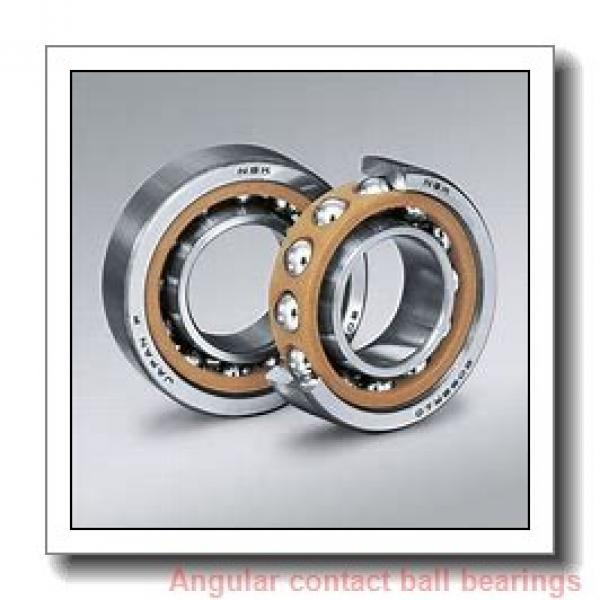 3.543 Inch | 90 Millimeter x 7.48 Inch | 190 Millimeter x 1.693 Inch | 43 Millimeter  SKF QJ 318 N2MA/C3  Angular Contact Ball Bearings #1 image