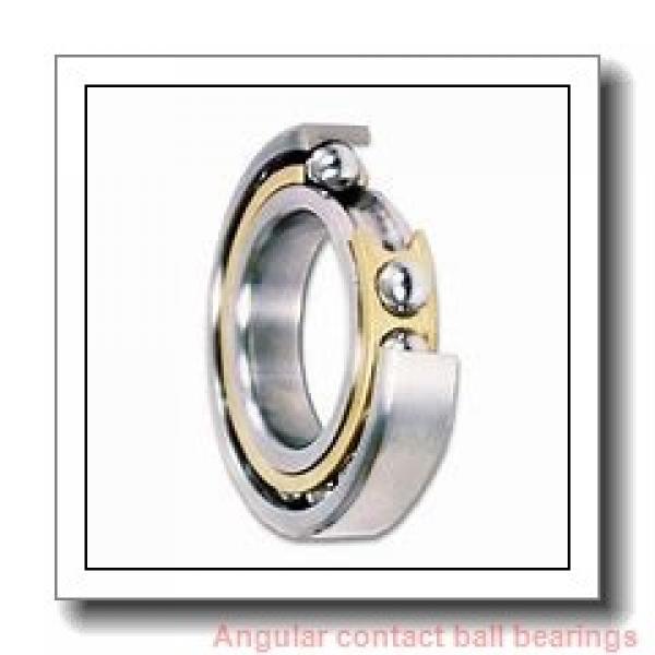 150 mm x 320 mm x 65 mm  SKF QJ 330 N2MA  Angular Contact Ball Bearings #1 image
