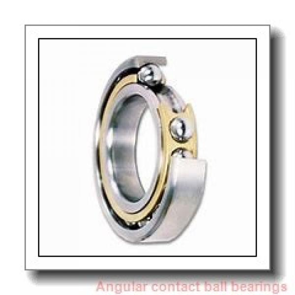 60 mm x 110 mm x 22 mm  SKF 7212 BECBY  Angular Contact Ball Bearings #1 image