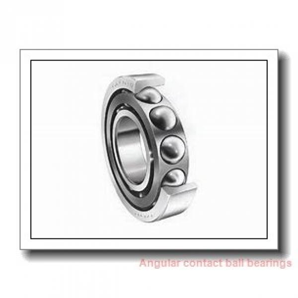 25 mm x 52 mm x 15 mm  SKF 7205 BEGBY  Angular Contact Ball Bearings #1 image