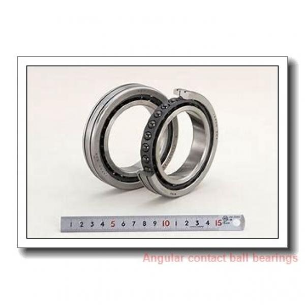 40 mm x 80 mm x 30,17 mm  TIMKEN 5208K  Angular Contact Ball Bearings #1 image