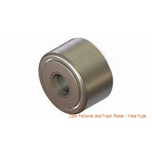 CONSOLIDATED BEARING 361204-2RSX  Cam Follower and Track Roller - Yoke Type #1 image