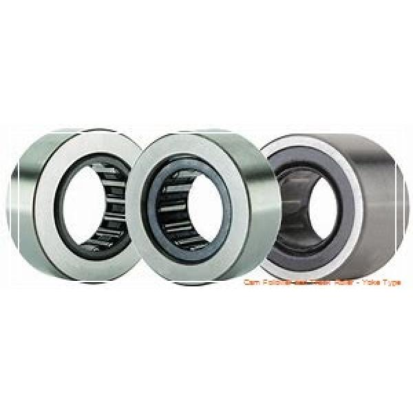 CONSOLIDATED BEARING NATV-6X  Cam Follower and Track Roller - Yoke Type #2 image