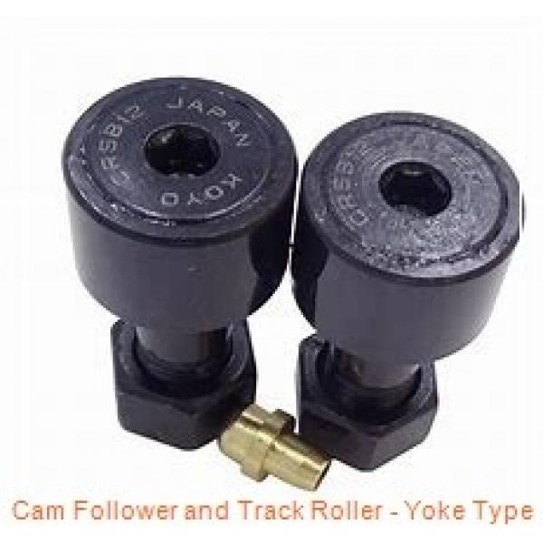 CONSOLIDATED BEARING 361201-2RS  Cam Follower and Track Roller - Yoke Type #2 image