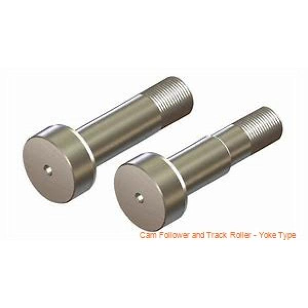 CONSOLIDATED BEARING NATV-20X  Cam Follower and Track Roller - Yoke Type #3 image
