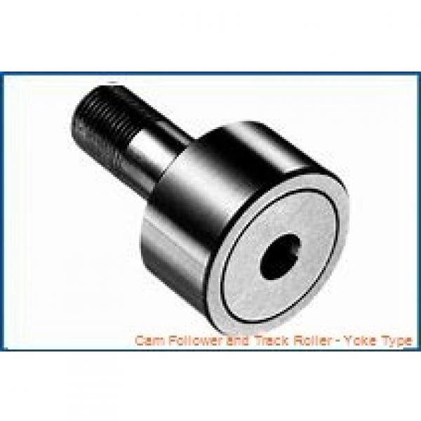CONSOLIDATED BEARING 361204-2RSX  Cam Follower and Track Roller - Yoke Type #2 image