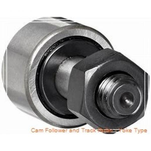 CONSOLIDATED BEARING 361202-2RSX  Cam Follower and Track Roller - Yoke Type #1 image