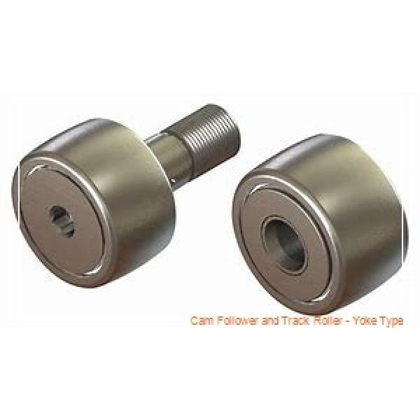 CONSOLIDATED BEARING 361201-2RS  Cam Follower and Track Roller - Yoke Type #1 image