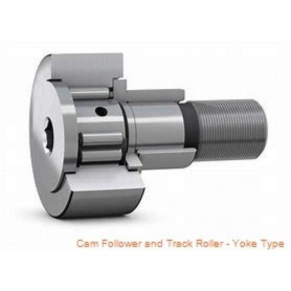 CONSOLIDATED BEARING 361202-2RSX  Cam Follower and Track Roller - Yoke Type #3 image