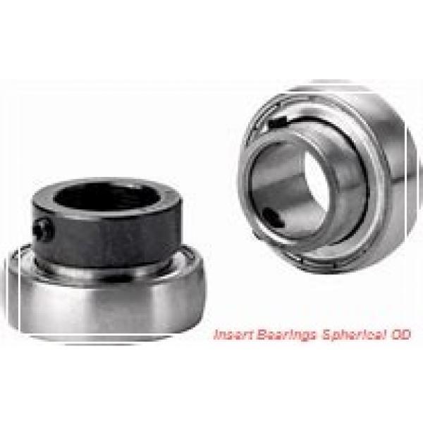 35 mm x 72 mm x 25.4 mm  SKF YET 207  Insert Bearings Spherical OD #1 image